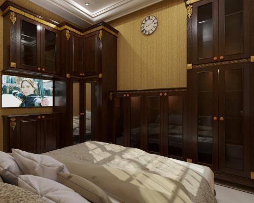 Interior Kamar Tidur Benny