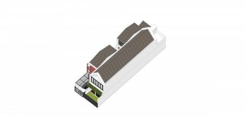 Denah Isometri Rooftop